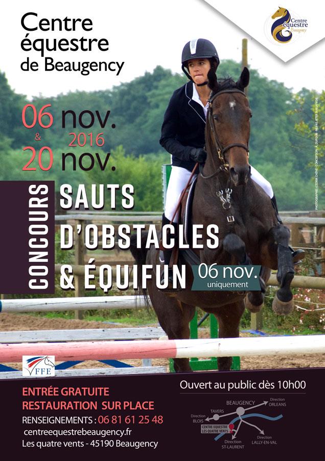 Calendrier Concours Cso 2020.Concours Cso Et Equifun Dimanche 6 Et 20 Novembre 2016